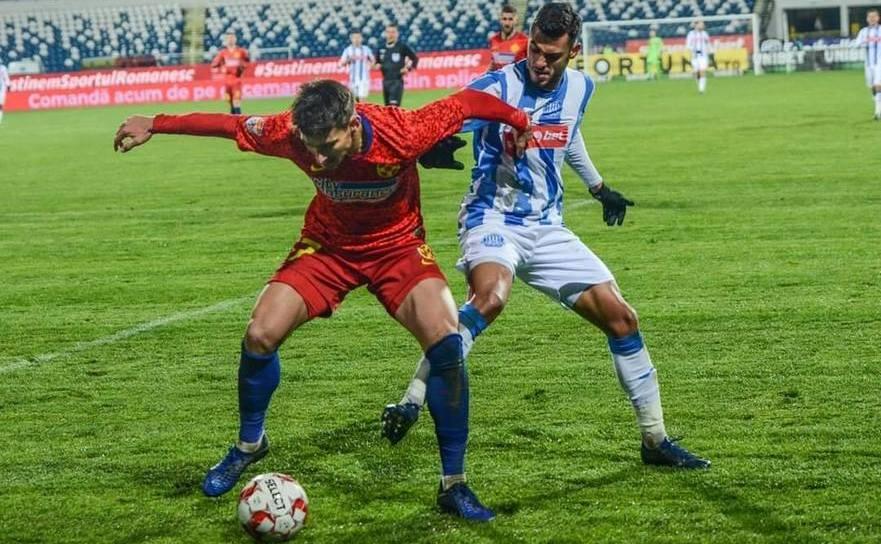 Politehnica Iaşi - FCSB 1-2, în etapa a19-a a Ligii I de  fotbal.