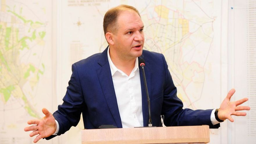Ivan Ceban, primarul Chişinăului