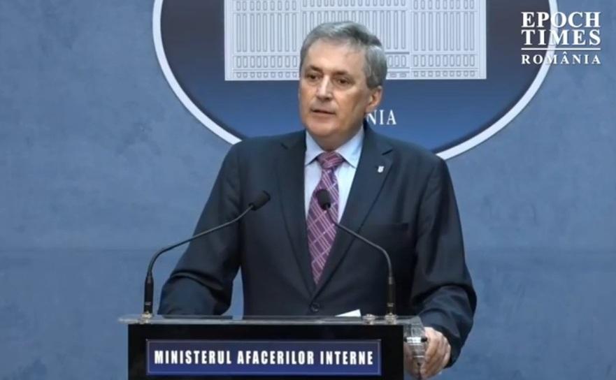 Marcel Vela, ministrul Afacerilor de Interne