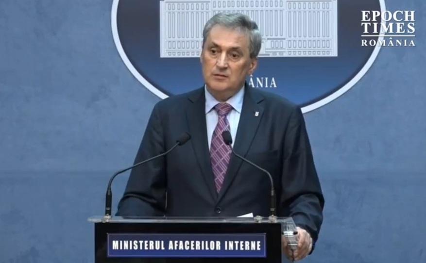 Ministrul Afacerilor Interne, Marcel Vela.