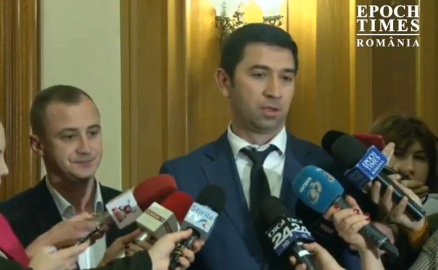 Liderul senatorilor PSD, Radu Preda.