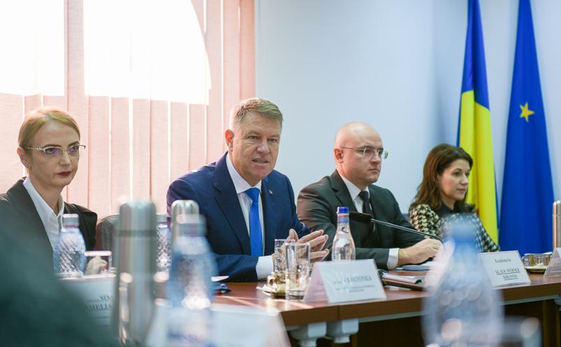 Preşedintele Klaus Iohannis la sediul CSM, 10  decembrie 2019
