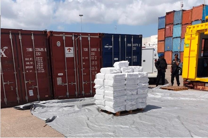 Cocaină confiscată