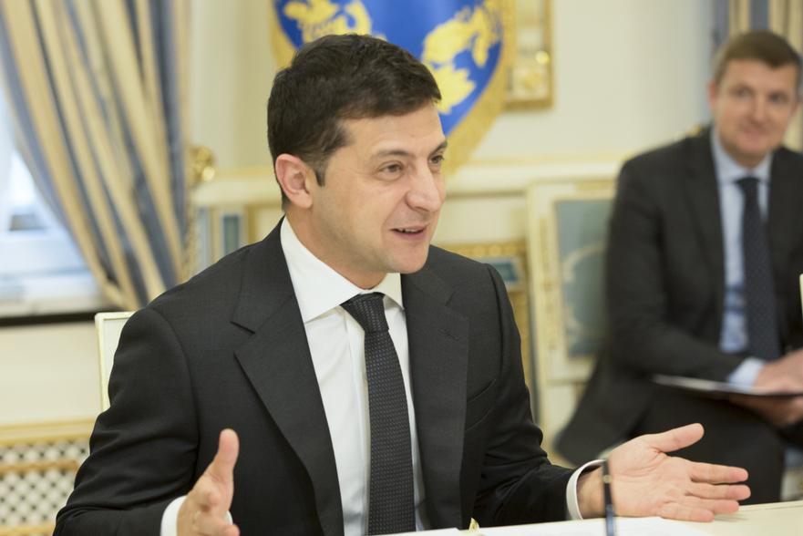 Vladimir Zelenski, preşedintele Ucrainei