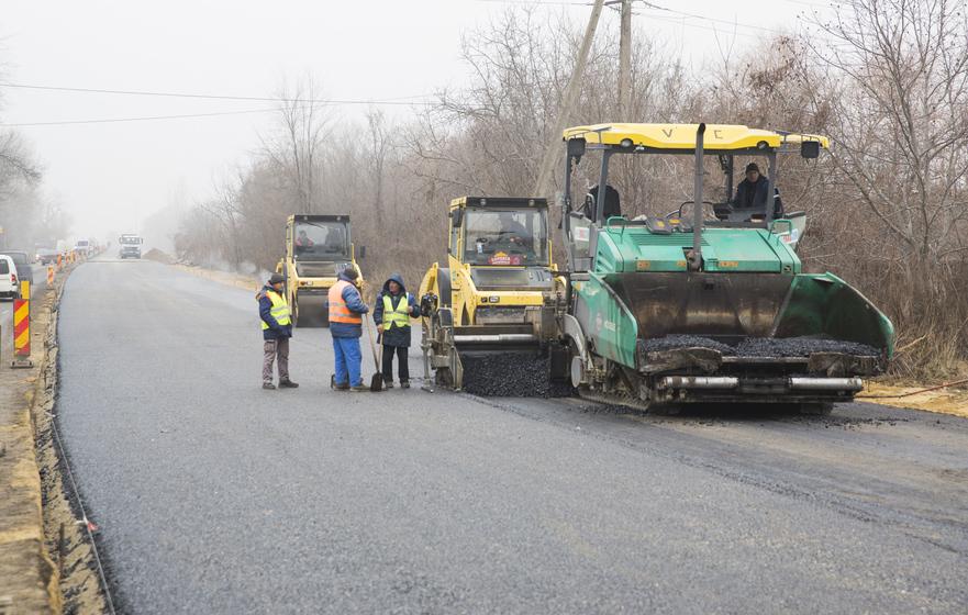 Drum în reparaţie, R. Moldova