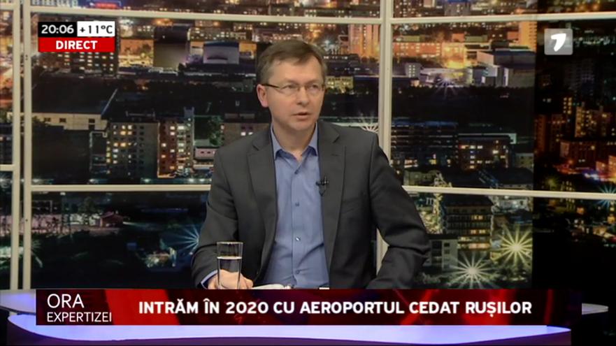 Veaceslav Negruţă, expert Transparency International Moldova