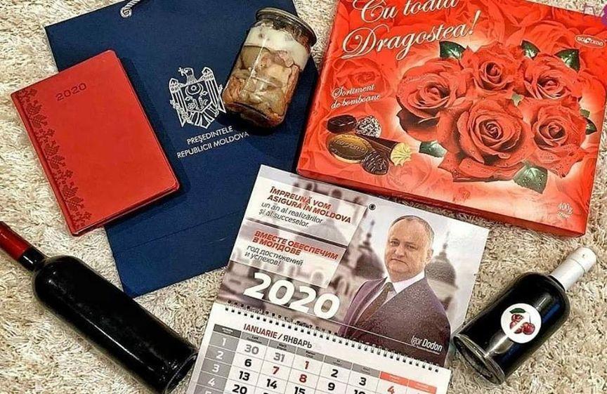 Cadourile oferite jurnaliştilor de către Preşedinţia R. Moldova