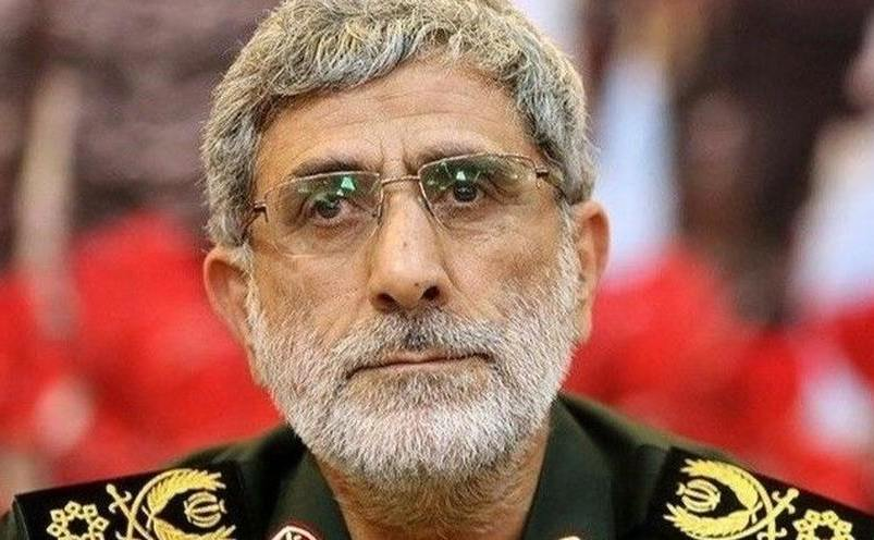 Gen. Esmail Ghani (Qaani)