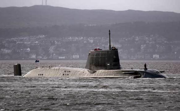 Submarin britanic, din clasa Astute