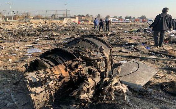 Avion al Ukrainian Airlines prăbuşit la Teheran