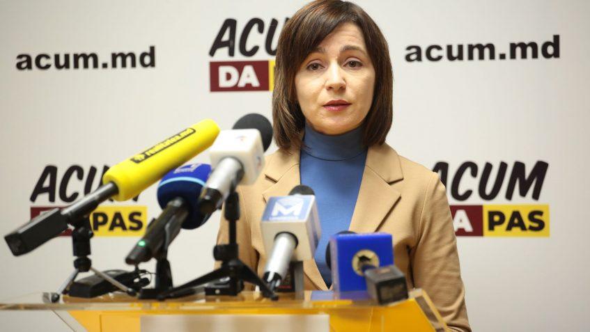 Maia Sandu, liderul PAS