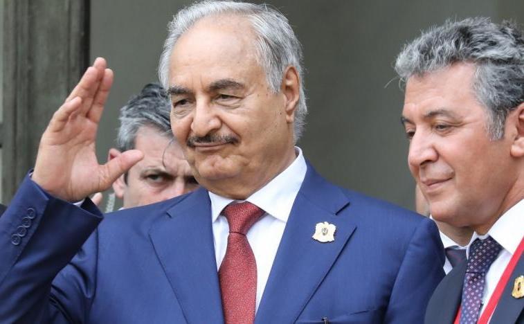 Generalul libian Kalifa Haftar