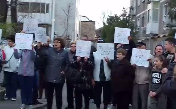 protest al locuitorilor din Giurgiului 164