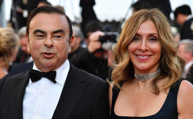 Carole şi Carlos Ghosn