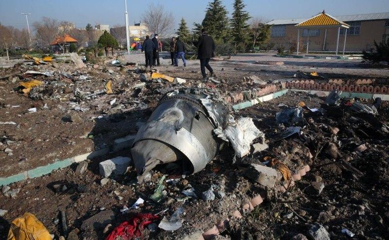 Avion de pasageri urainean căzut lângă aeroportul din Teheran