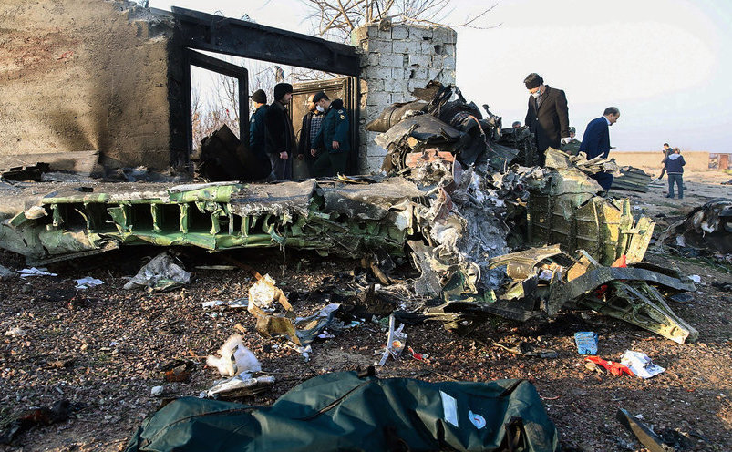 Avion de pasageri ucrainean căzut lângă aeroportul din Teheran
