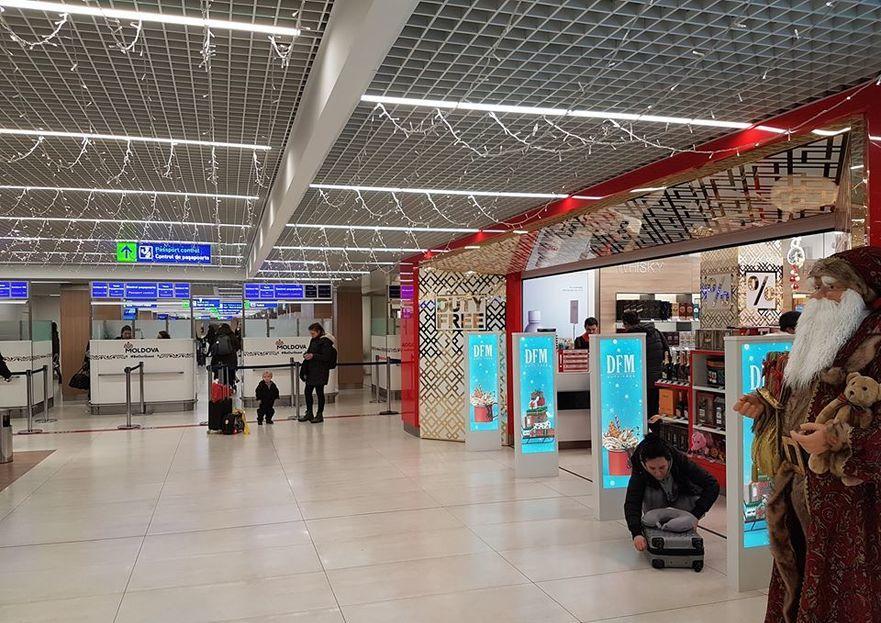 Magazinul Duty Free de la Aeroportul Chişinău