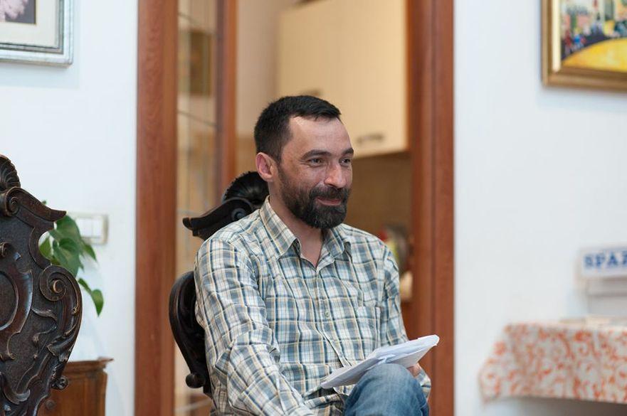 Pavel Păduraru, jurnalist la ziarul Timpul