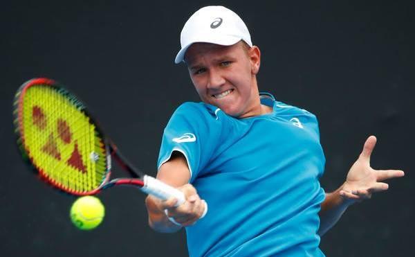 Jucătorul român de tenis Filip Jeanu.