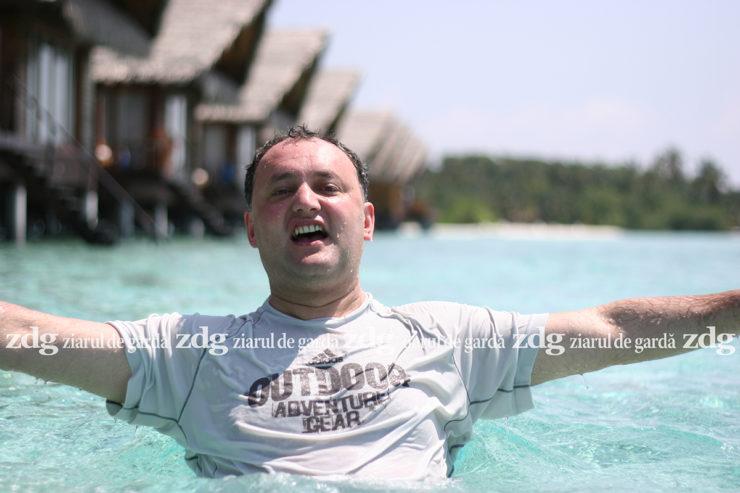 Igor Dodon, petrecând vacanţa în Maldive