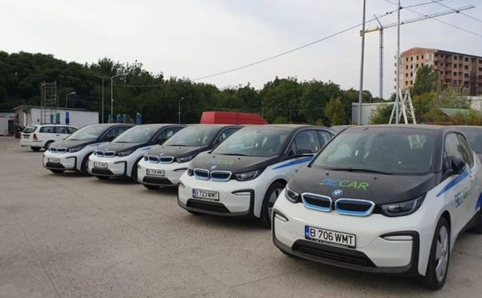 Flota de maşini electrice de la Compania Municipală Managementul Transportului