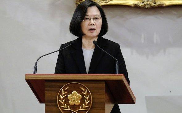 Tsai Ing-wen, preşedintele Taiwanului