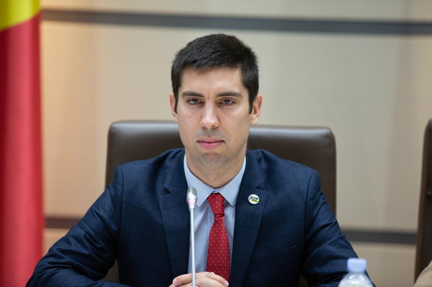 Mihai Popşoi, deputat PAS în Parlamentul R. Moldova