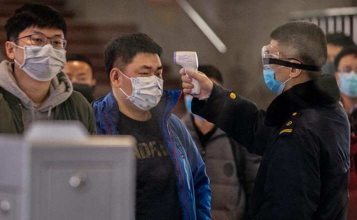Puncte de control ale epidemiei de virus Wuhan