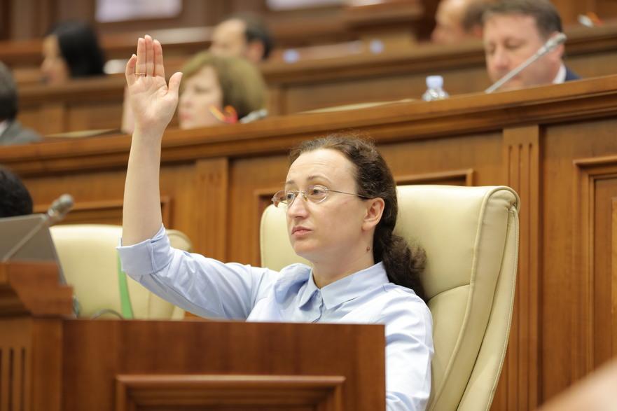 Inga Grigoriu, deputat al Platformei DA în Parlamentul R. Moldova