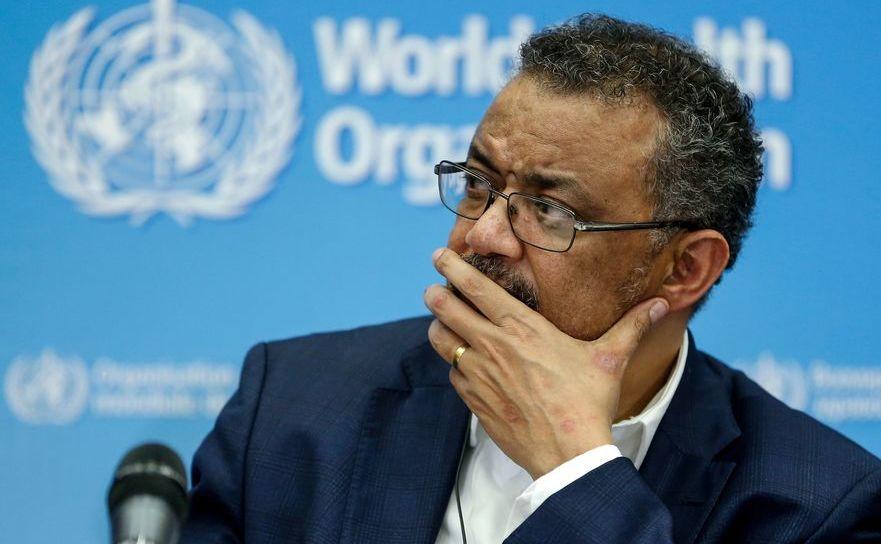 Directorul OMS, Tedros Adhanom Ghebreyesus