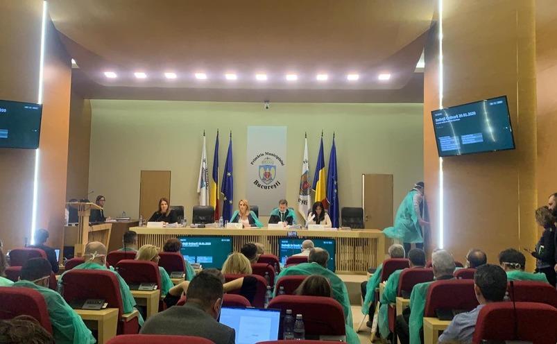 Sedinta de miercuri a Consiliului General al Municipiului Bucuresti