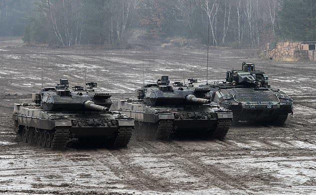 Tancuri Puma, pe vremuri mândria industriei germane