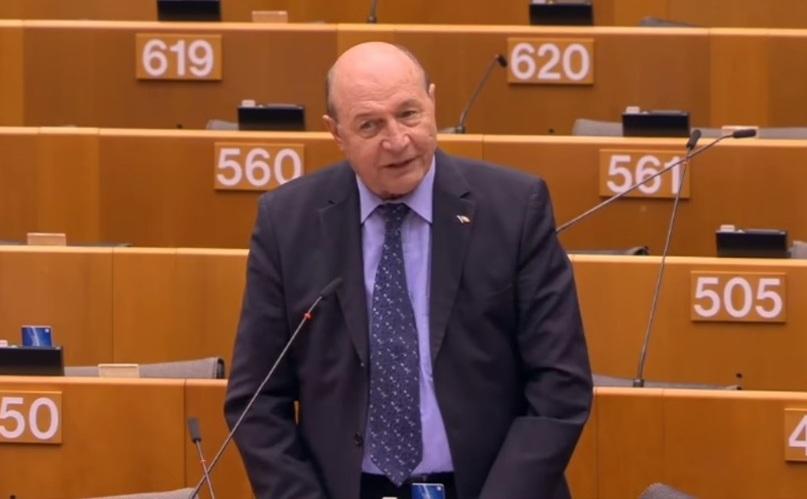 Europarlamentarul Traian Basescu