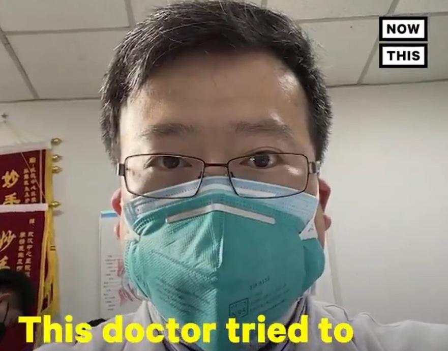 Doctorul Li Wenliang, 34 de ani, cel care a dat alarma in Wuhan, in legatura cu coronavirusul.
