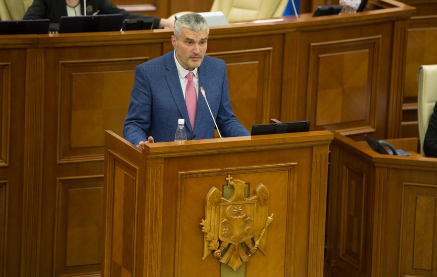Alexandr Slusari, vicepreşedinte a Parlamentului R. Moldova