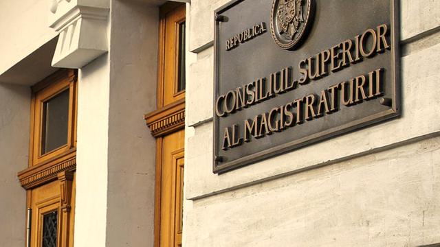Consiliul Superior al magistraturii de la Chişinău