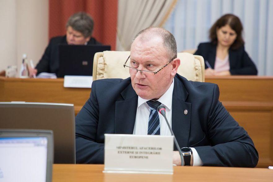 Aureliu Ciocoi, ministrul Afacerilor Externe şi Integrării Europene a R. Moldova