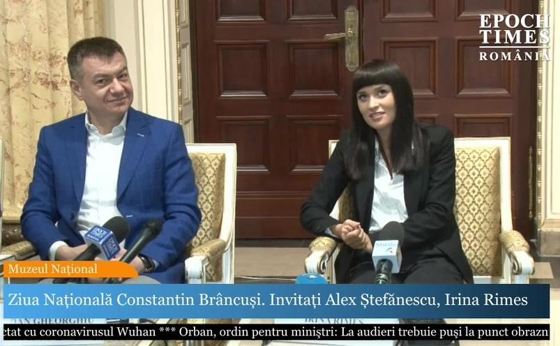 Ministrul Culturii şi Irina Rimes
