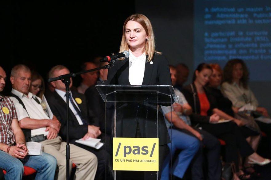 Doina Gherman, deputat PAS în Parlamentul R. Moldova