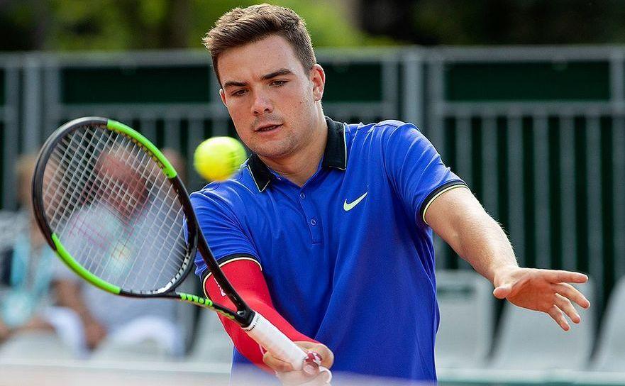 Jucătorul român de tenis Ştefan Palosi.