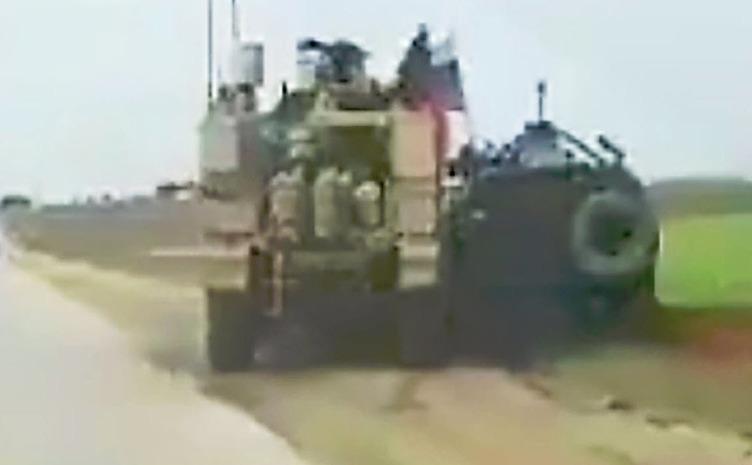 Incident între soldaţi ruşi şi americani pe o autostradă în Siria