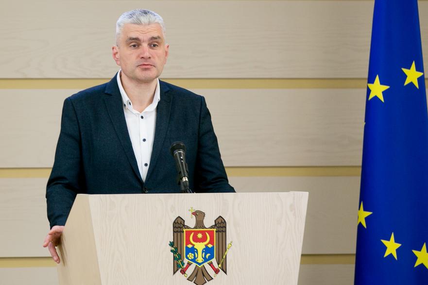Alexandr Slusari, vicepreşedintele R. Moldova