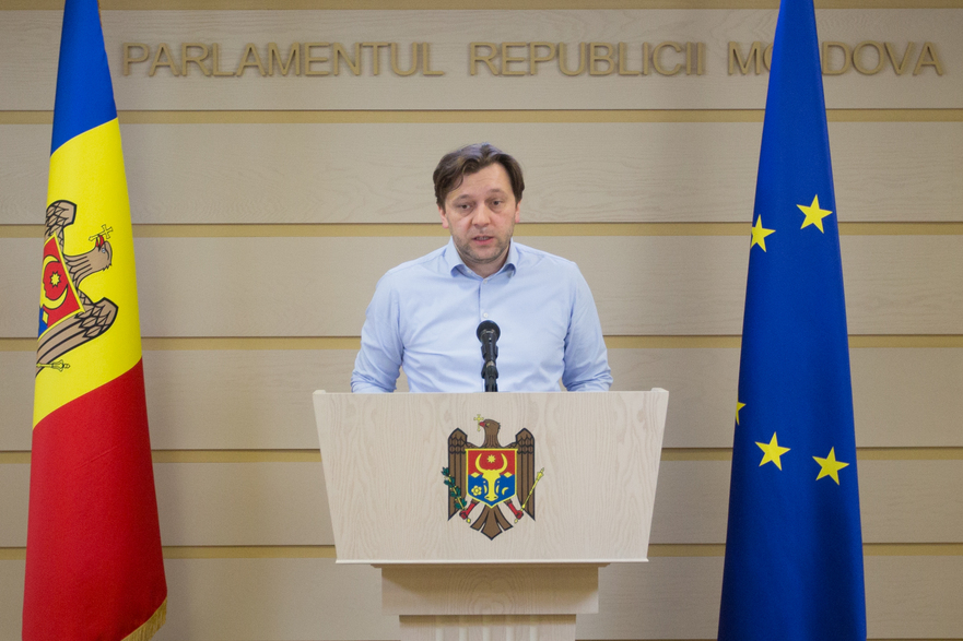 Dumitru Alaiba, deputat PAS în Parlamentul R. Moldova