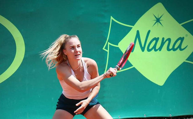 Jucătoarea română de tenis Andreea Amalia Roşca.