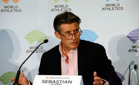 Preşedintele Federaţiei Internaţionale de Atletism,  Sebastian Coe.