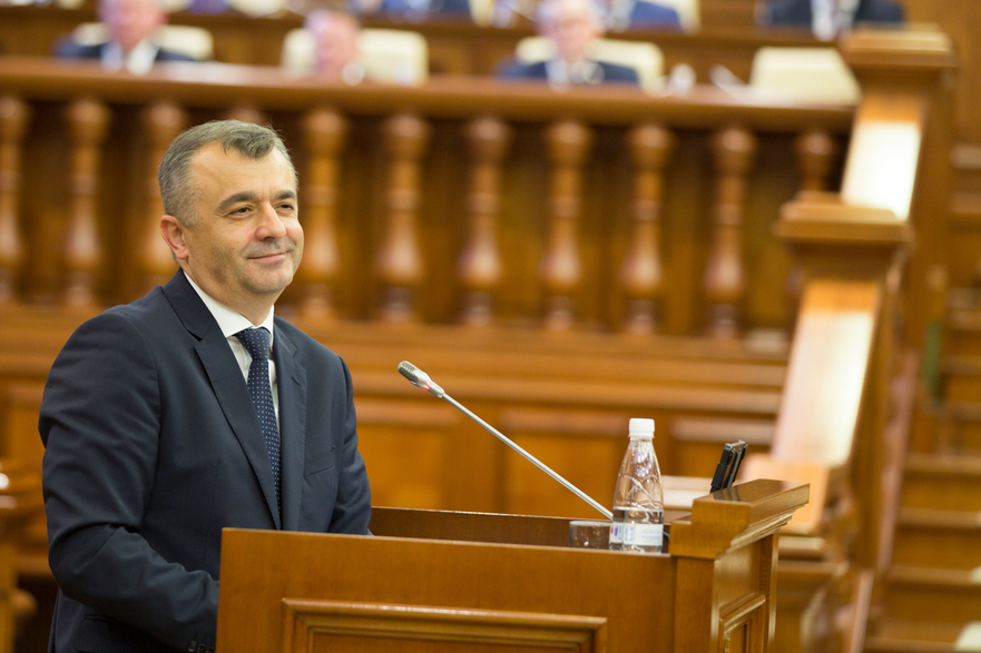 Ion Chicu, premierul R. Moldova