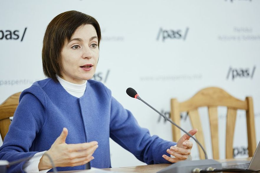 Maia Sandu, preşedinte a Partidului Acţiune şi Solidaritate