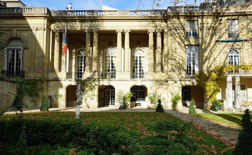 Ambasada României în Franţa