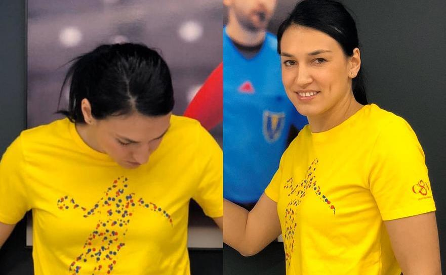 Handbalista română Cristina Neagu.