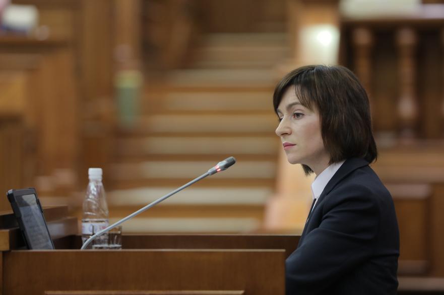 Maia Sandu, preşedinte a PAS